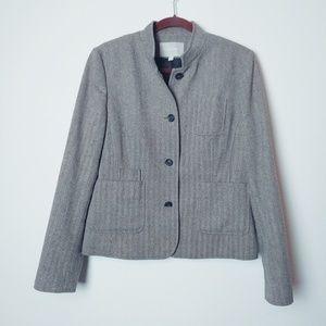 Banana Republic Tweed Wool Blend Blazer/Jacket.